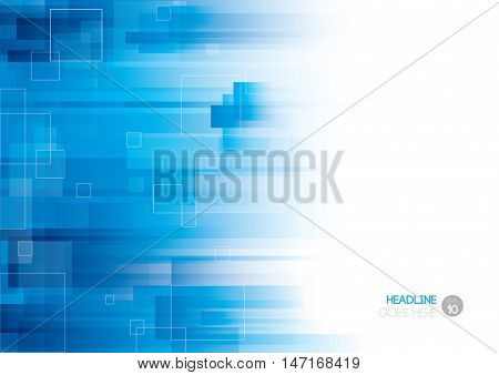 Vector of abstract futuristic background