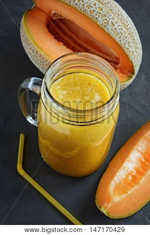 Smoothie With A Melon