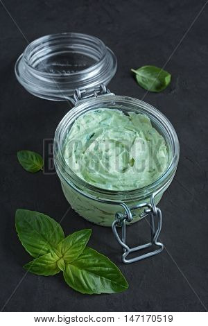 Spread With Feta And Basil