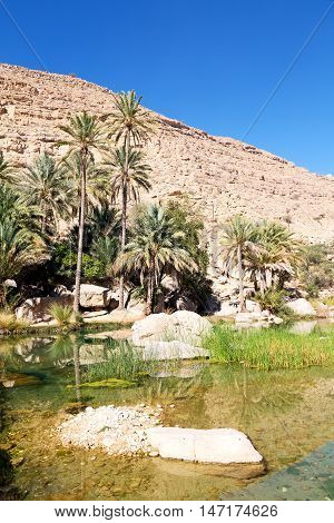 In  Oman  Water Canyon