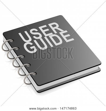 User Guide Book Isolated