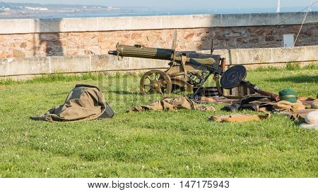 Machine Gun Of The Russian Army