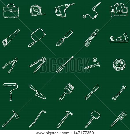 Vector Work Tools Icons