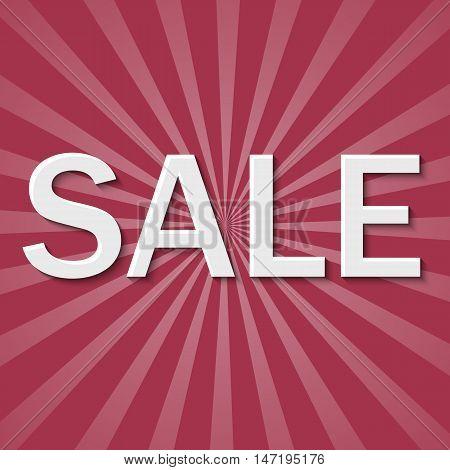 Super Sale paper banner. Sale desaturated background. Big sale. Sale tag. Sale poster. Sale vector.