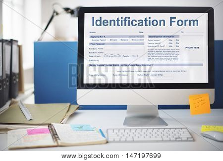 Identification Form Name Individuality Personality Concept