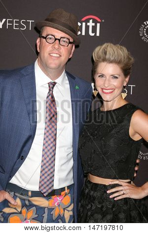 LOS ANGELES - SEP 13:  Chris Sullivan, Rachel Sullivan at the PaleyFest 2016 Fall TV Preview - NBC at the Paley Center For Media on September 13, 2016 in Beverly Hills, CA