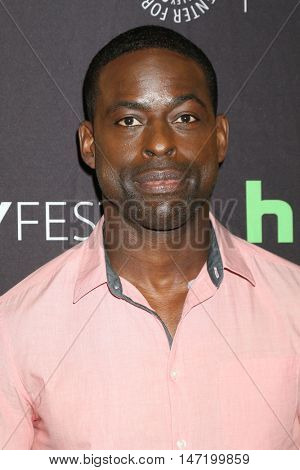 LOS ANGELES - SEP 13:  Sterling K. Brown at the PaleyFest 2016 Fall TV Preview - NBC at the Paley Center For Media on September 13, 2016 in Beverly Hills, CA