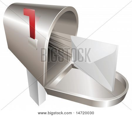 Mailbox Illustration Concept