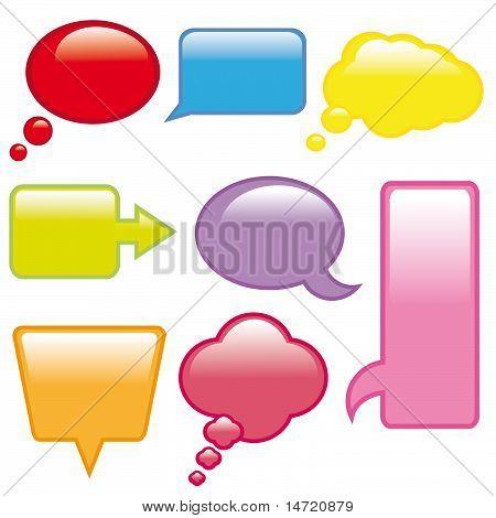 dialog balloons