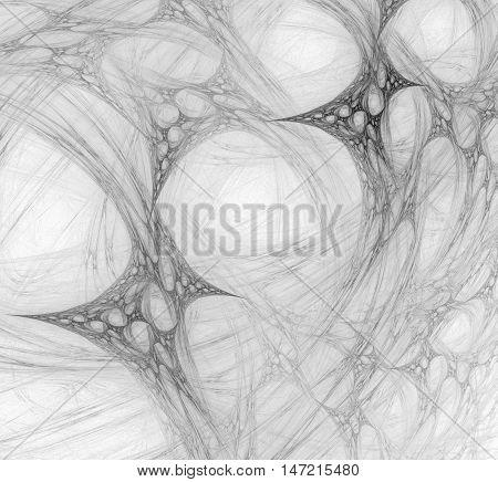 Fractal computer-generated image. Fractal art background for creative design.