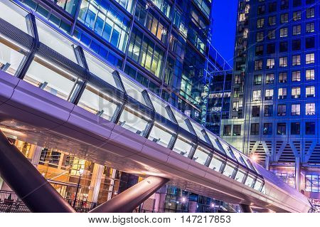 Canary Wharf Pedestrian Bridge