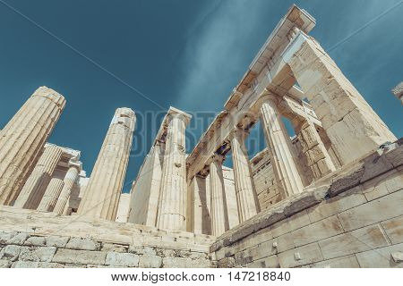 The Entrance To Acropolis