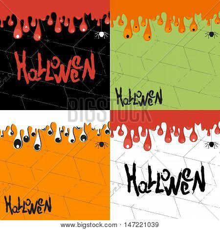 Vector Helloween Background