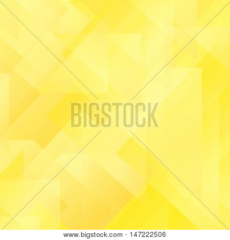 Abstract Yellow Pattern. Geometric Yellow Futuristic Background