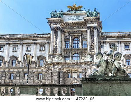 Museum Of Ethnology In Burggarten. Vienna, Austria