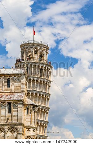 The Leaning Tower in Pisa Italy Romanesque architecture in Tuscanyhttp://www.bigstockphoto.com/account/uploads/contribute?edit=147242900#categories