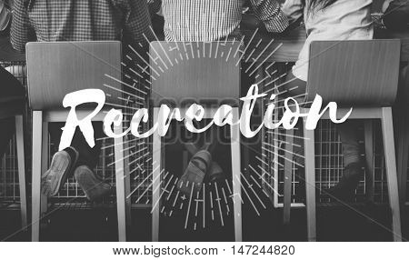 Recreation Calm Chill Happiness Life Peace Rest Concept