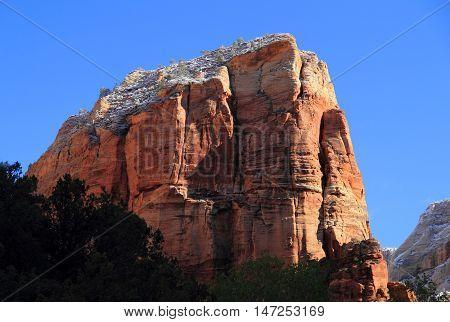 Angels Landing Landscape in Zion National Park, Utah