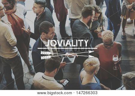 Entertain Joviality Fun Gathering Enjoyment Concept