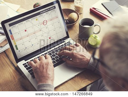Calendar Memo Organize Reminder Schedule Concept