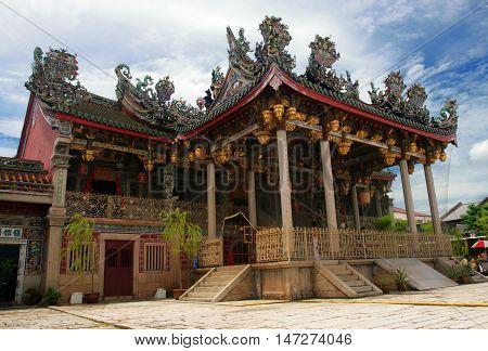 Khoo Kongsi, Penang, Malaysia..