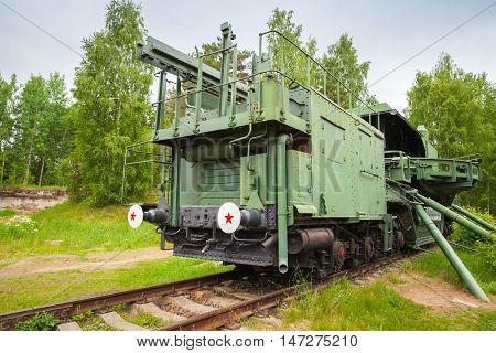 Tm-1-180 Railway Gun