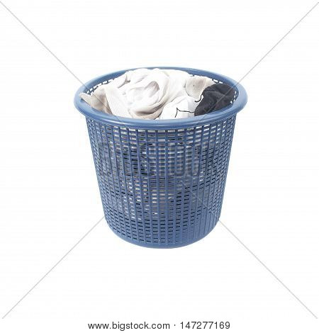 The Basket for dirty laundry dirty socks