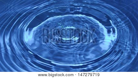 The background image is clean, potable water.