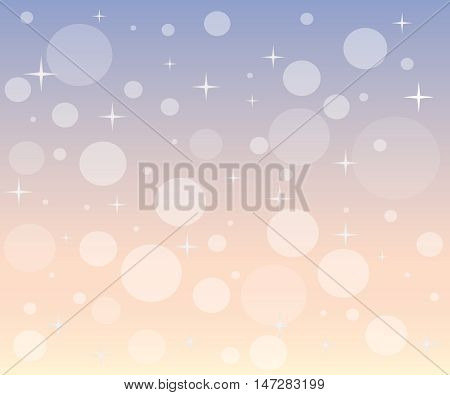 Christmas snowfall at dawn.  Festive colorful pattern with snowflakes is perfect for packaging paper, wrapping packages, invitations, greeting card, backdrop, web design  etc.