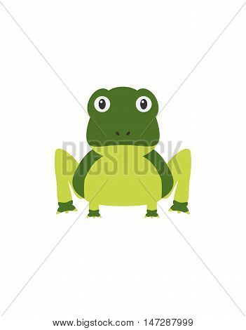 Funny Frog Character