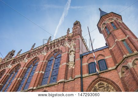 Jewish Synagogue In The Center Of Zwolle