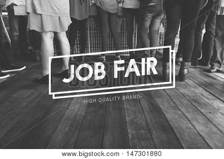 Diaspora Initiation Job Fair People Team Concept