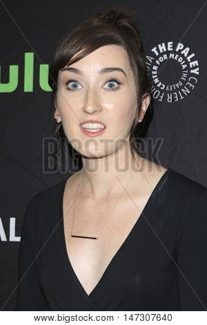 LOS ANGELES - SEP 10:  Allie Hagan at the PaleyFest 2016 Fall TV Preview - ABC at the Paley Center For Media on September 10, 2016 in Beverly Hills, CA