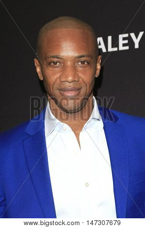 LOS ANGELES - SEP 10:  J August Richards at the PaleyFest 2016 Fall TV Preview - ABC at the Paley Center For Media on September 10, 2016 in Beverly Hills, CA