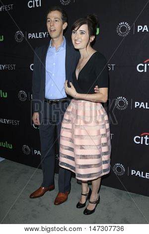 LOS ANGELES - SEP 10:  Josh Berman, Allie Hagan at the PaleyFest 2016 Fall TV Preview - ABC at the Paley Center For Media on September 10, 2016 in Beverly Hills, CA