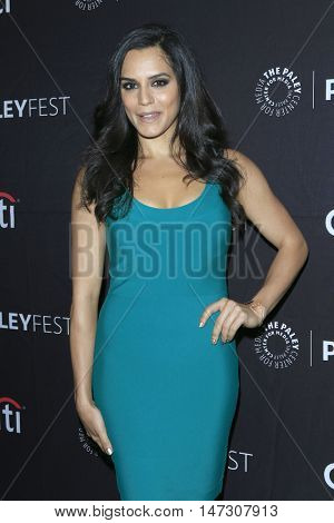 LOS ANGELES - SEP 10:  Sepiteh Moafi at the PaleyFest 2016 Fall TV Preview - ABC at the Paley Center For Media on September 10, 2016 in Beverly Hills, CA