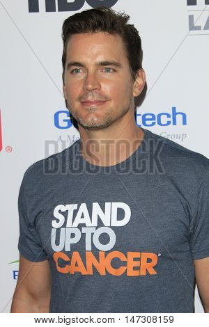 LOS ANGELES - SEP 9:  Matt Bomer at the 5th Biennial Stand Up To Cancer at the Walt Disney Concert Hall on September 9, 2016 in Los Angeles, CA