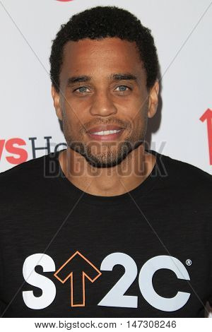 LOS ANGELES - SEP 9:  Michael Ealy at the 5th Biennial Stand Up To Cancer at the Walt Disney Concert Hall on September 9, 2016 in Los Angeles, CA