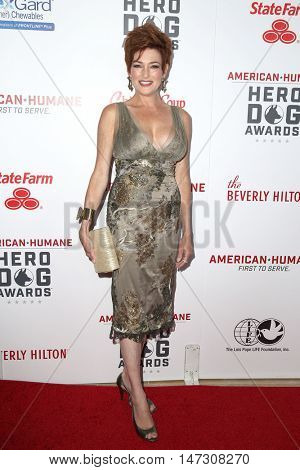LOS ANGELES - SEP 10:  Carolyn Hennesy at the 2016 American Humane Hero Dog Awards at the Beverly Hilton Hotel on September 10, 2016 in Beverly Hills, CA