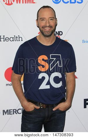 LOS ANGELES - SEP 9:  Tony Hale at the 5th Biennial Stand Up To Cancer at the Walt Disney Concert Hall on September 9, 2016 in Los Angeles, CA