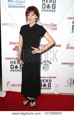 LOS ANGELES - SEP 10:  Marilu Henner at the 2016 American Humane Hero Dog Awards at the Beverly Hilton Hotel on September 10, 2016 in Beverly Hills, CA