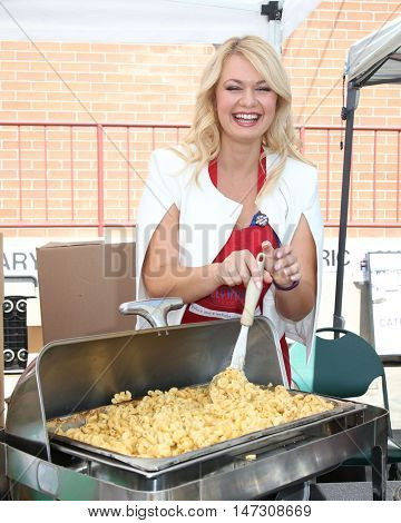 LOS ANGELES - SEP 9:  Angeline Rose Troy at the Hollywood Chamber of Commerceâ??s Police and Fire Fighters Appreciation Day BBQ at the LAPD Hollywood Division on September 9, 2016 in Los Angeles, CA