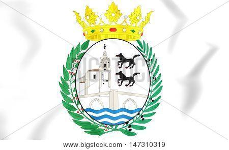 Bilbao Coat Of Arms, Spain. 3D Illustration.