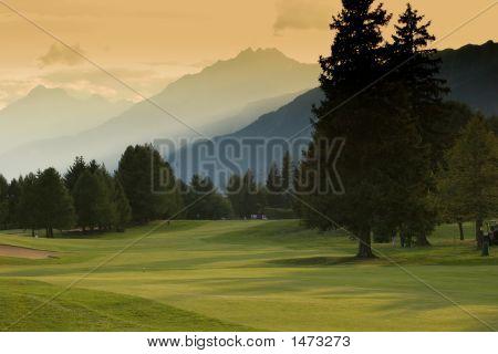 Crans Montana Golf Course