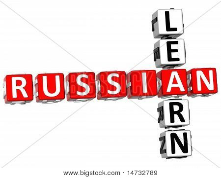 Learn Russian Crossword