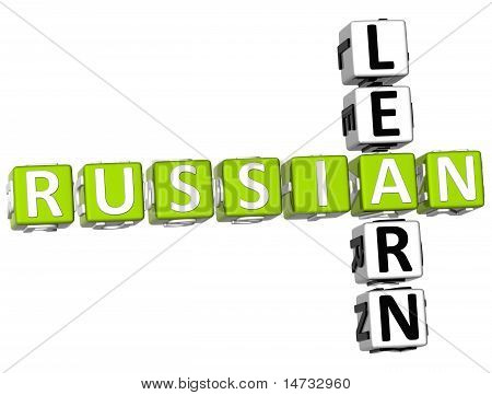 Aprender ruso Crucigrama