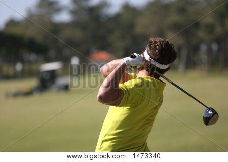Golf Swing In Oitavos