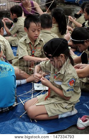 Asian Children Join Life Skills Course