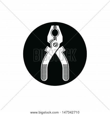 Detailed vector illustration of pliers work tool.