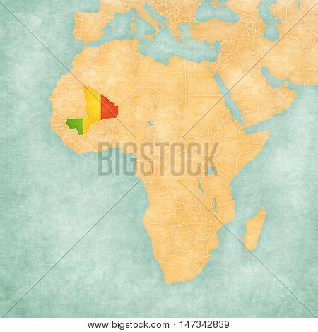 Map Of Africa - Mali